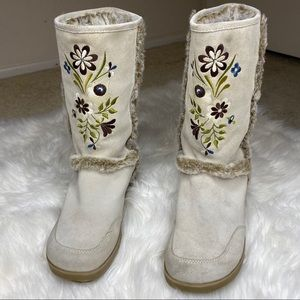 🖤SALE: price drop🖤 Report embroider floral boots